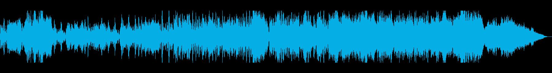 軽やかで優しいイージーリスニングの再生済みの波形
