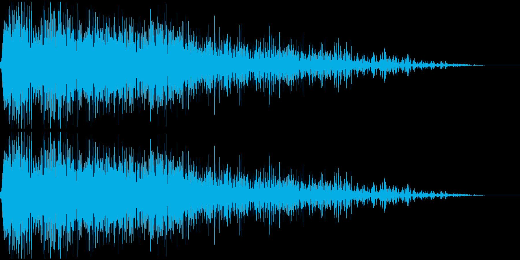 ロボット足音 タイプ7の再生済みの波形