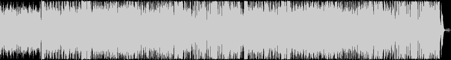 戦隊物イメージしたコミカルな曲の未再生の波形