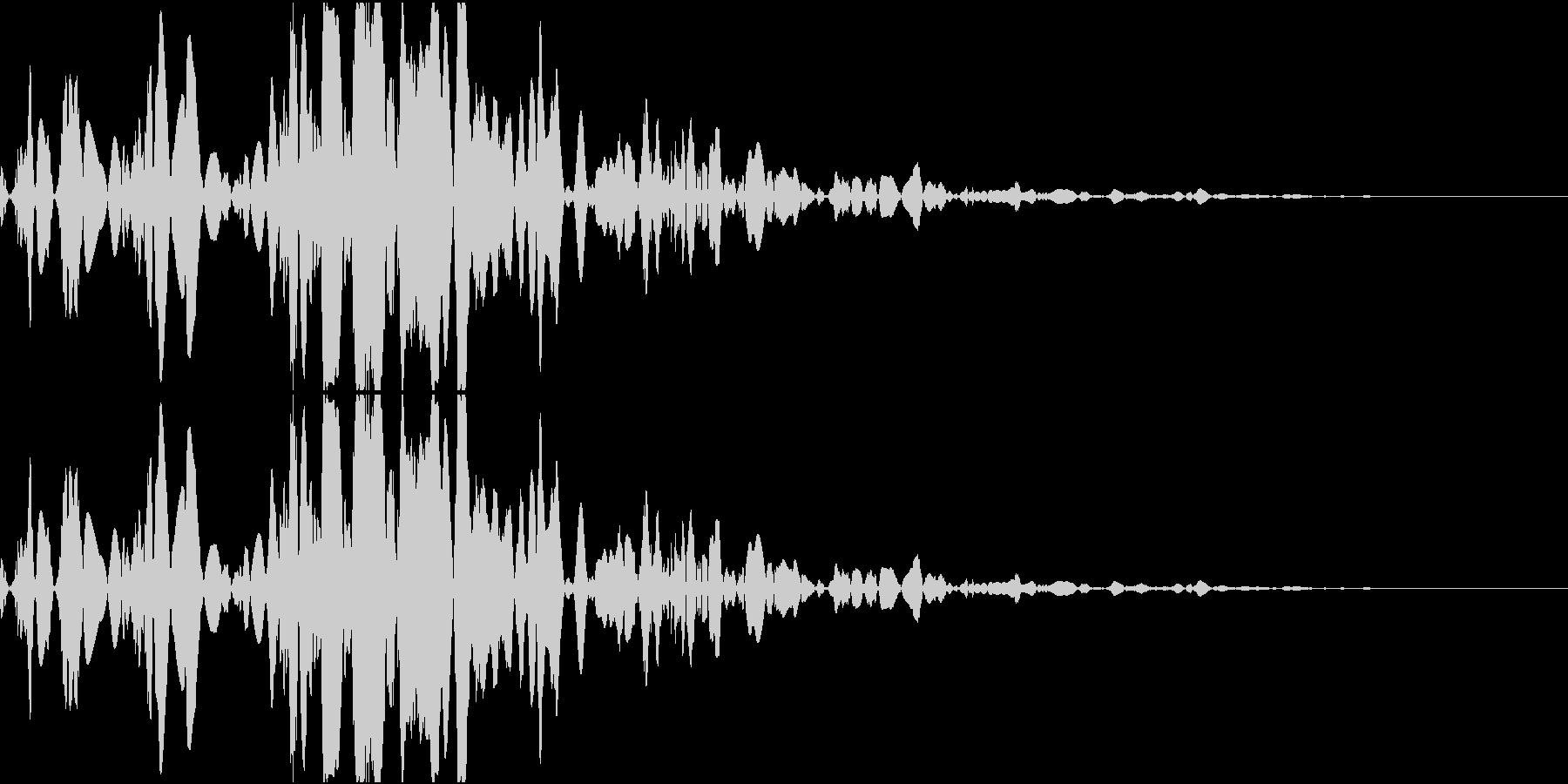 ベチャッ10(泥・液体系のアクション音)の未再生の波形