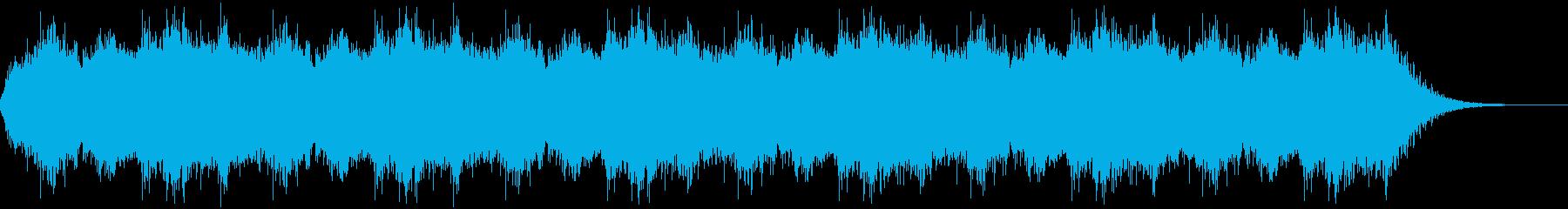 異世界の合唱BGMですの再生済みの波形