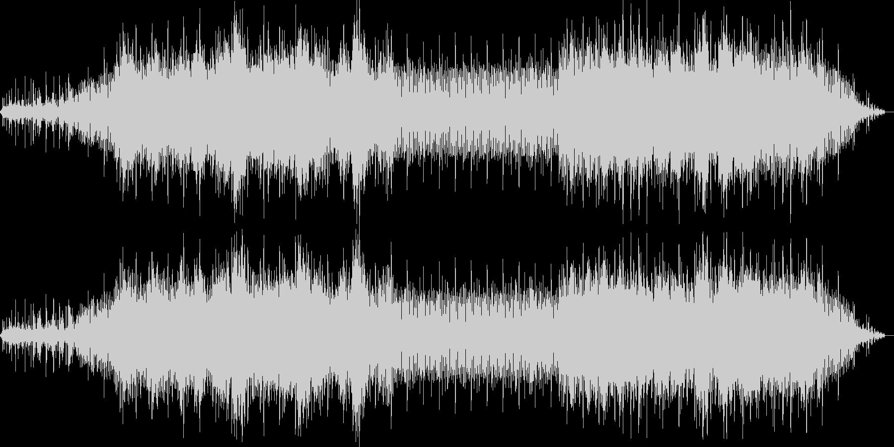 水辺や森をイメージした曲の未再生の波形
