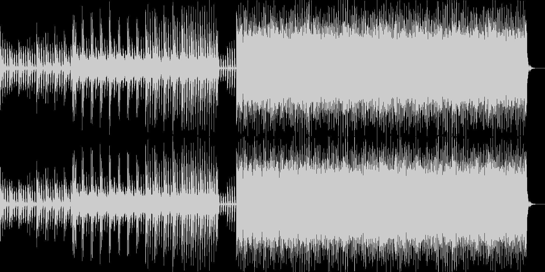 ダークなBGMです。の未再生の波形