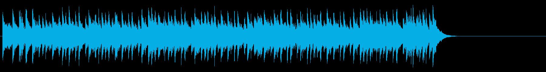 爽快なオープニング(イントロ~Aメロ)の再生済みの波形