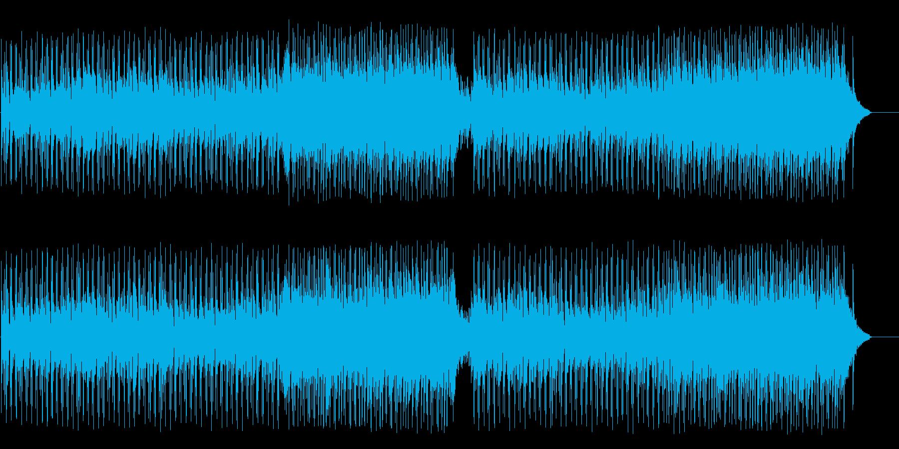 ティータイムを楽しむボサノバポップの再生済みの波形