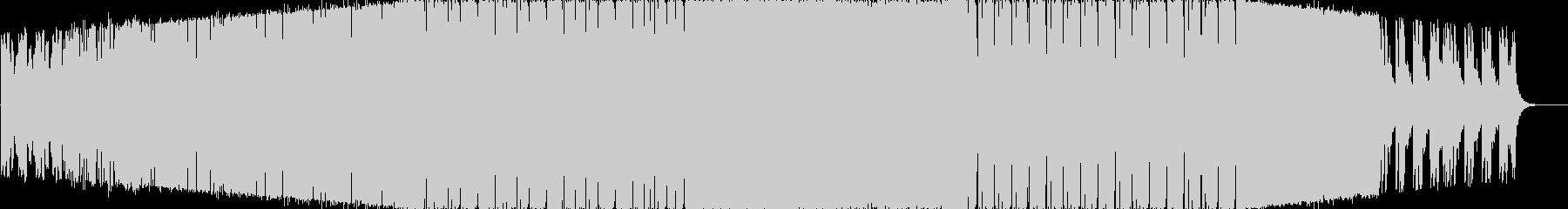 前向きでノリノリのEDM風BGMですの未再生の波形