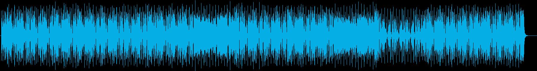 軽快でパワフルでワイルドなシンセロックの再生済みの波形
