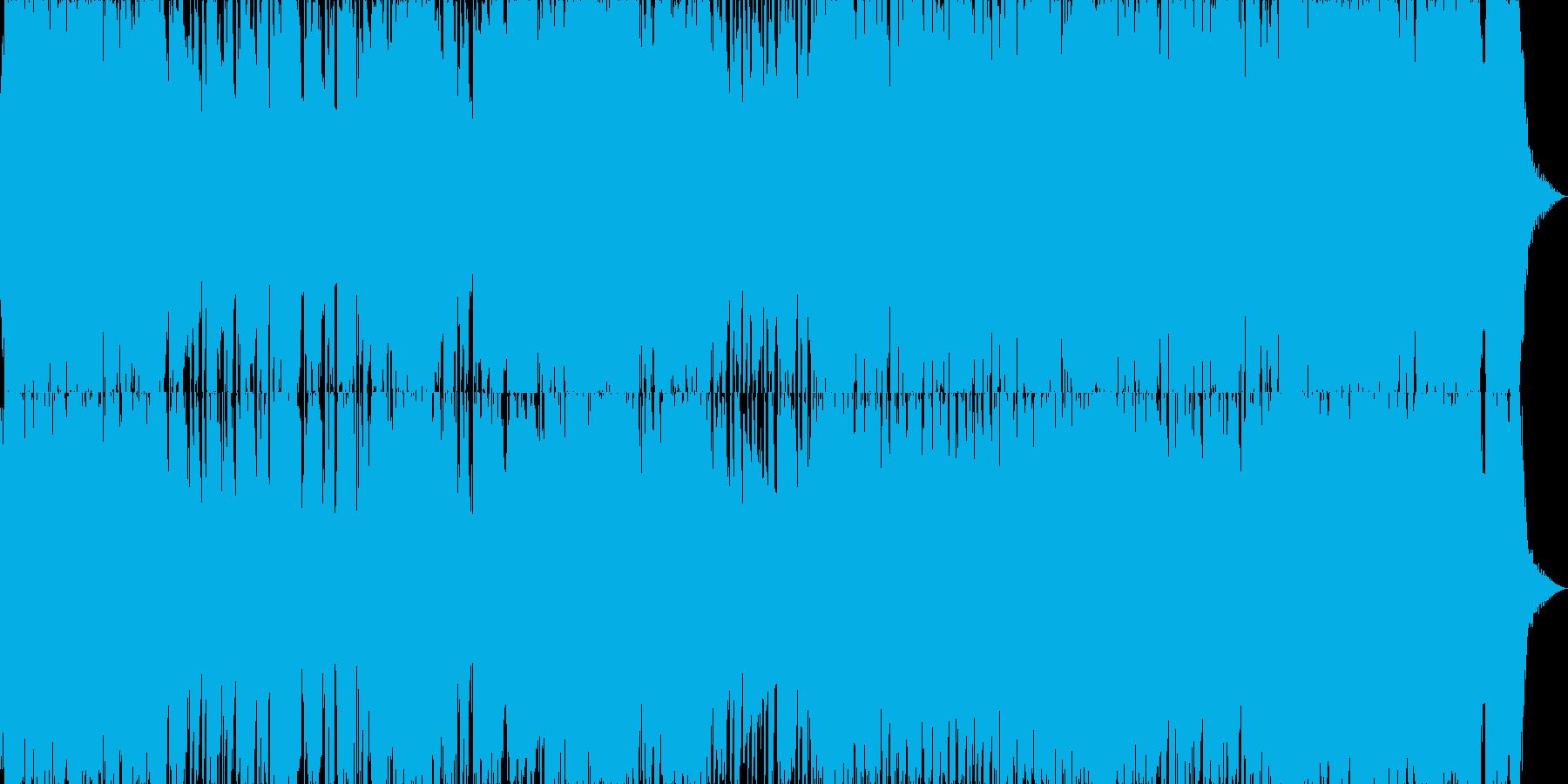 ファンキーでご機嫌なブルージーポップの再生済みの波形