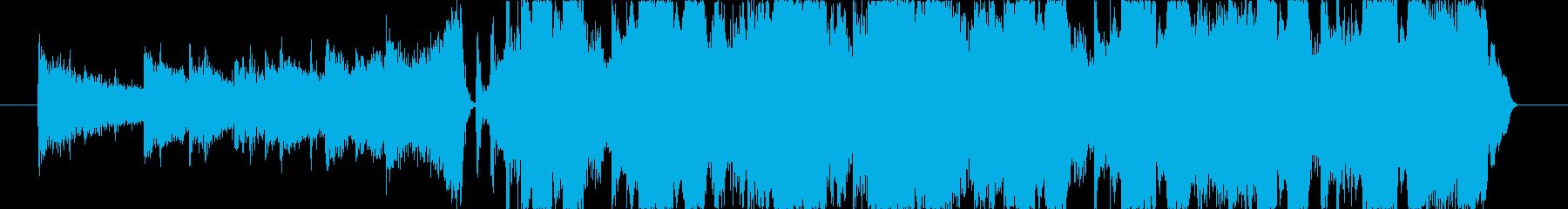 爽やかでPOPなEDMジングル CMの再生済みの波形