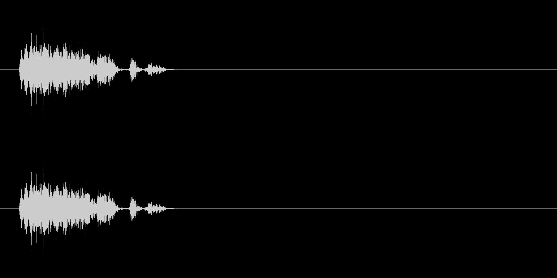 【ブーブークッション01-2】の未再生の波形