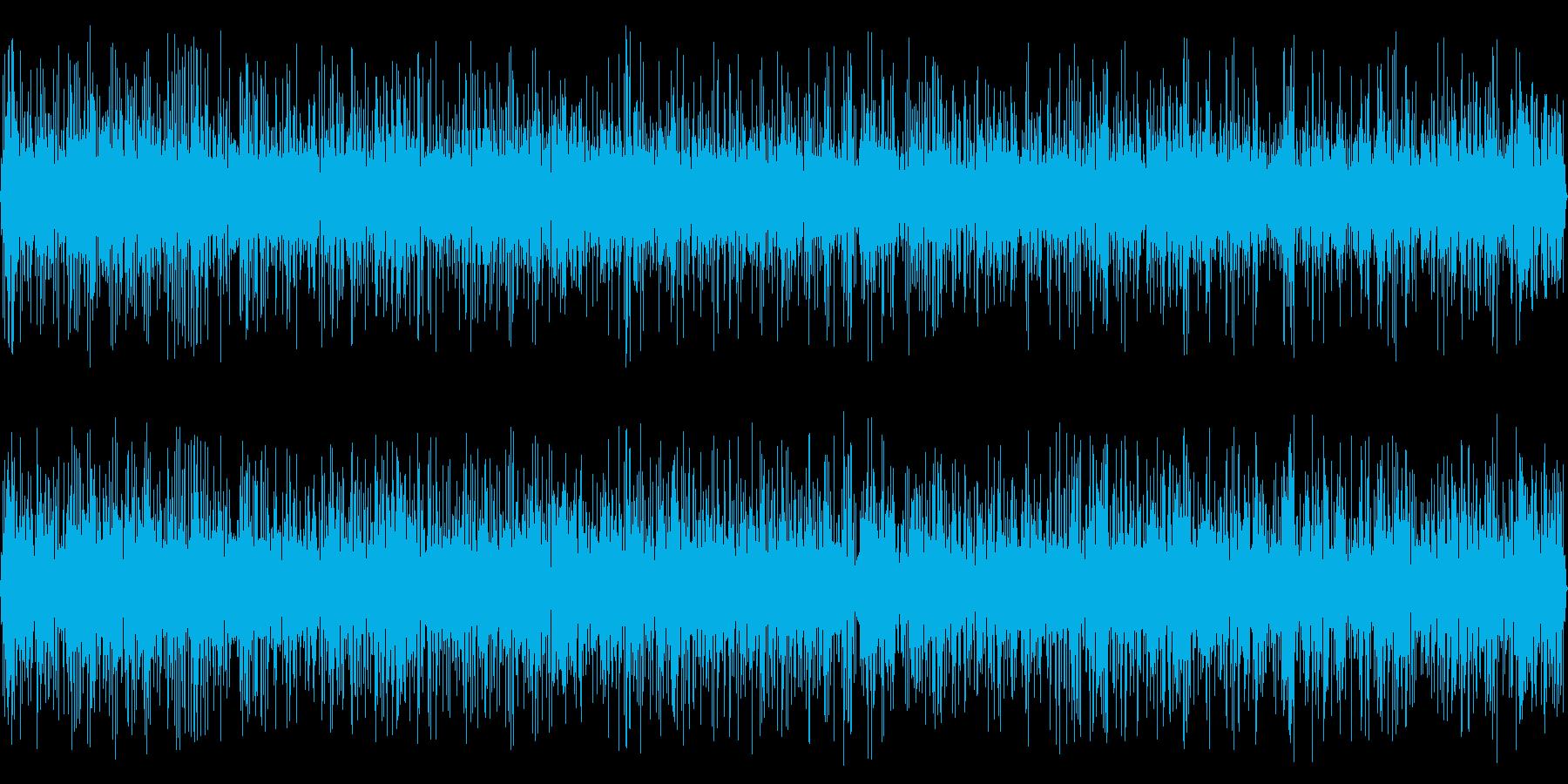 小川(環境音)の再生済みの波形