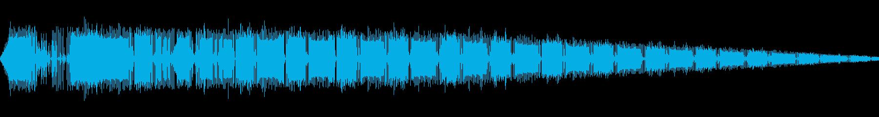ピロピロピロ(ピコピコ/警告/アラームの再生済みの波形