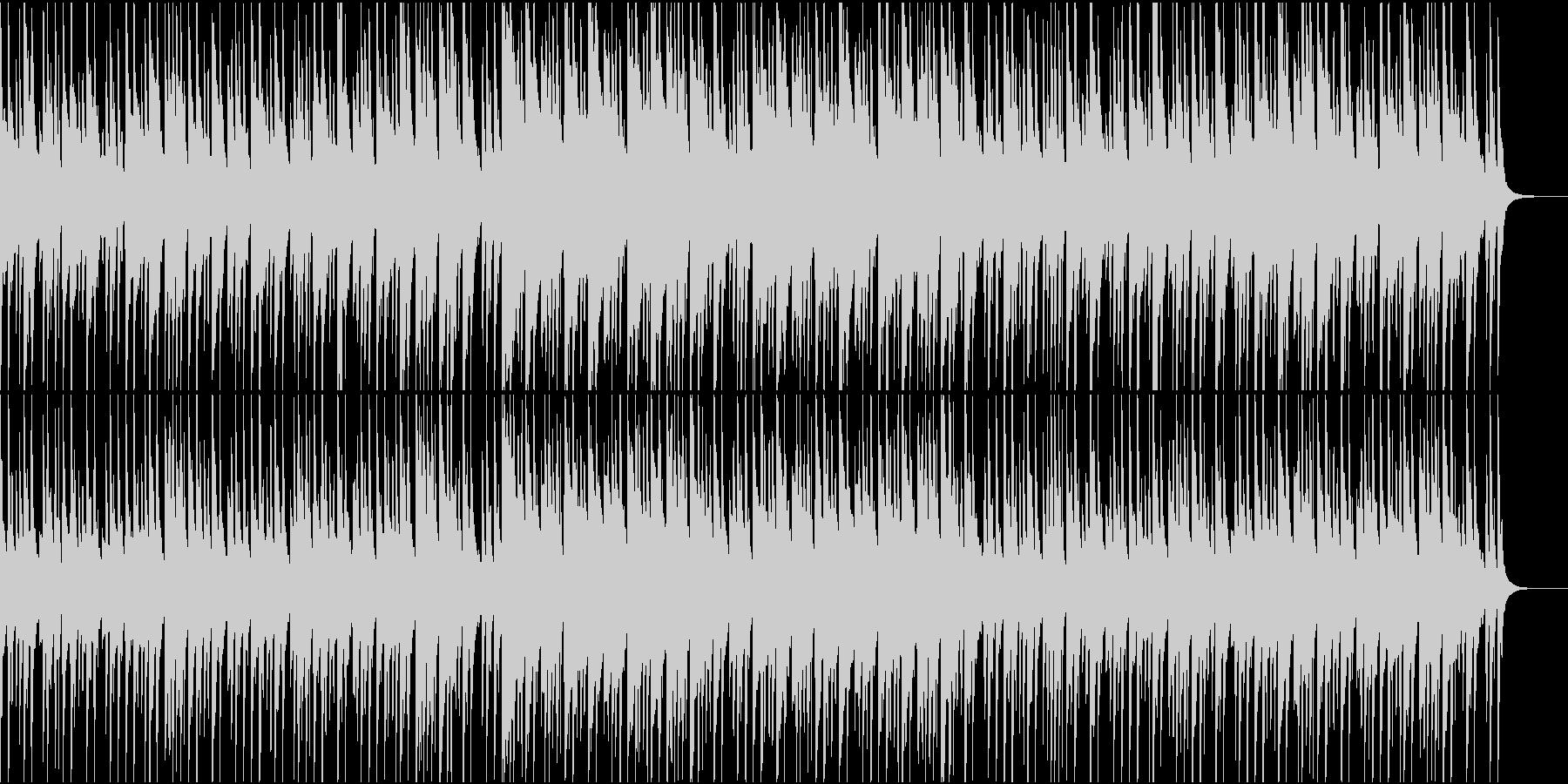 軽快で可愛いポップの未再生の波形