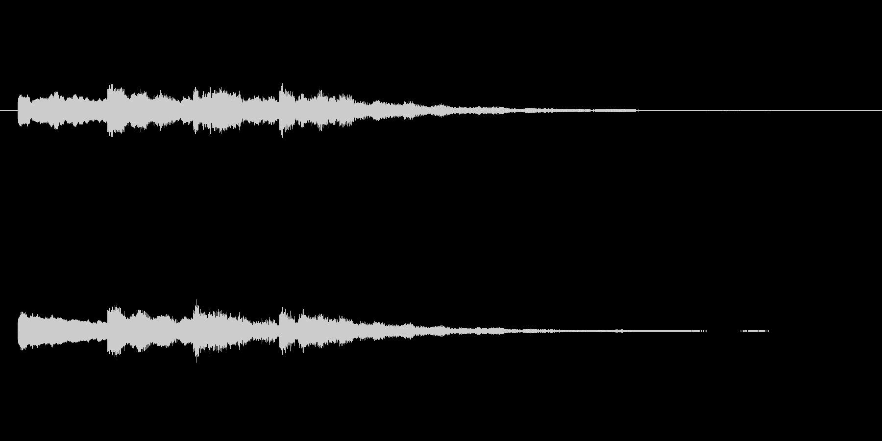 【チャイム 学校03-09】の未再生の波形