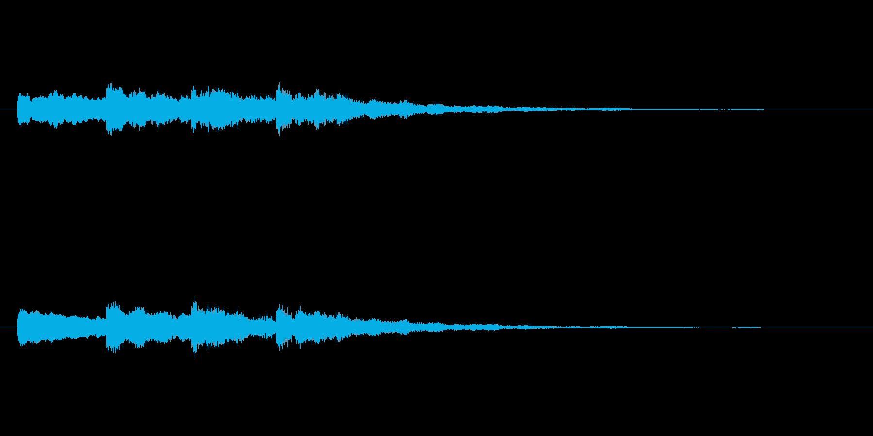 【チャイム 学校03-09】の再生済みの波形