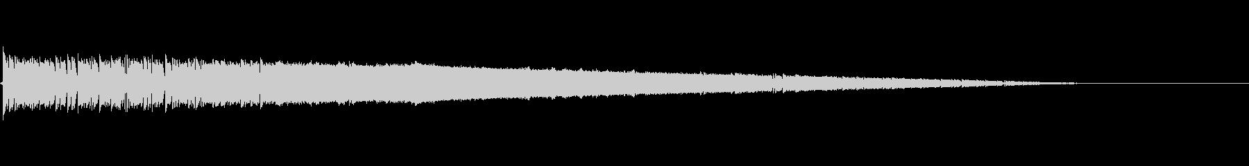 ゴゴゴ・・・バシューン(ロケット打上げ)の未再生の波形