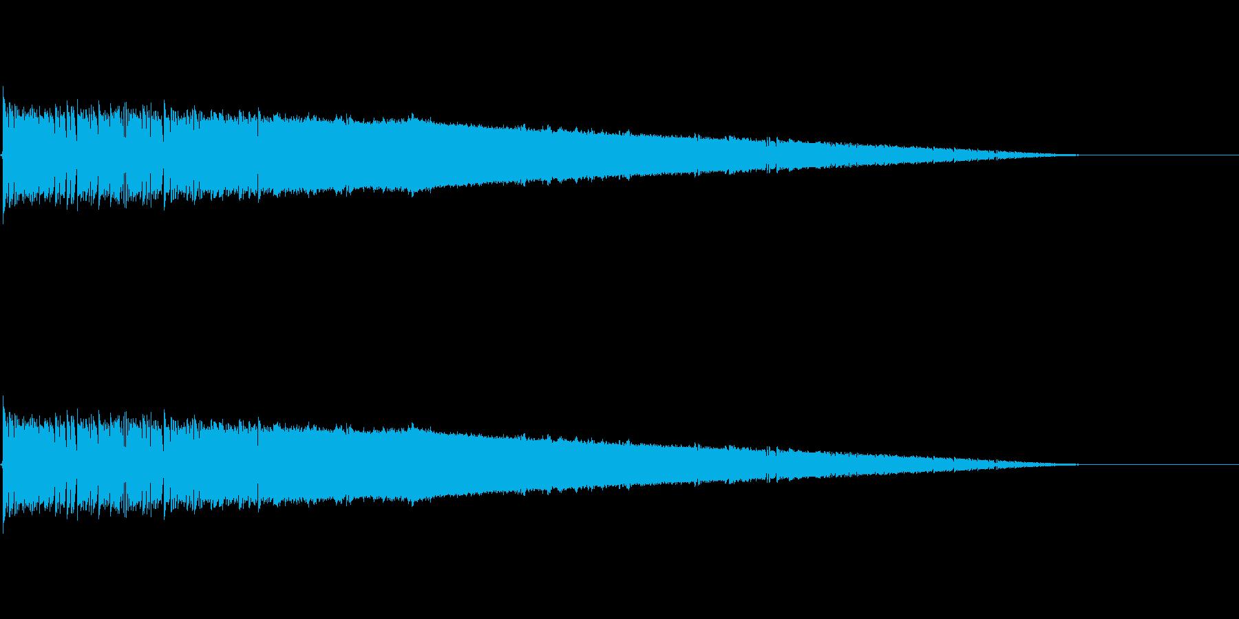 ゴゴゴ・・・バシューン(ロケット打上げ)の再生済みの波形