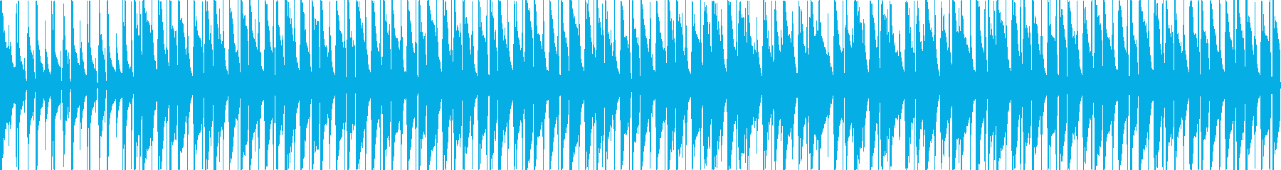 【ループ版】ウクレレとグロッケンの軽快での再生済みの波形
