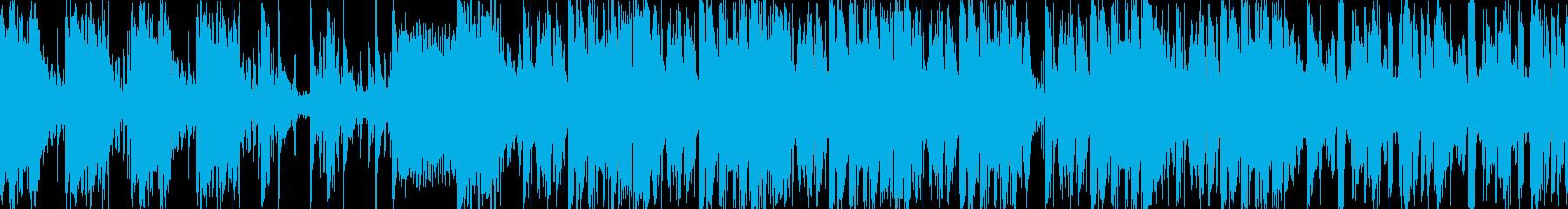 緊迫したバトル・戦闘に適したBGMの再生済みの波形