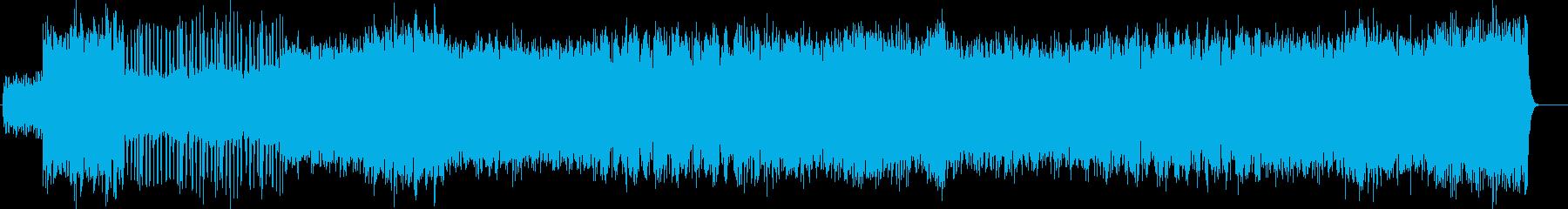 リズミカルなオーケストレーションの再生済みの波形