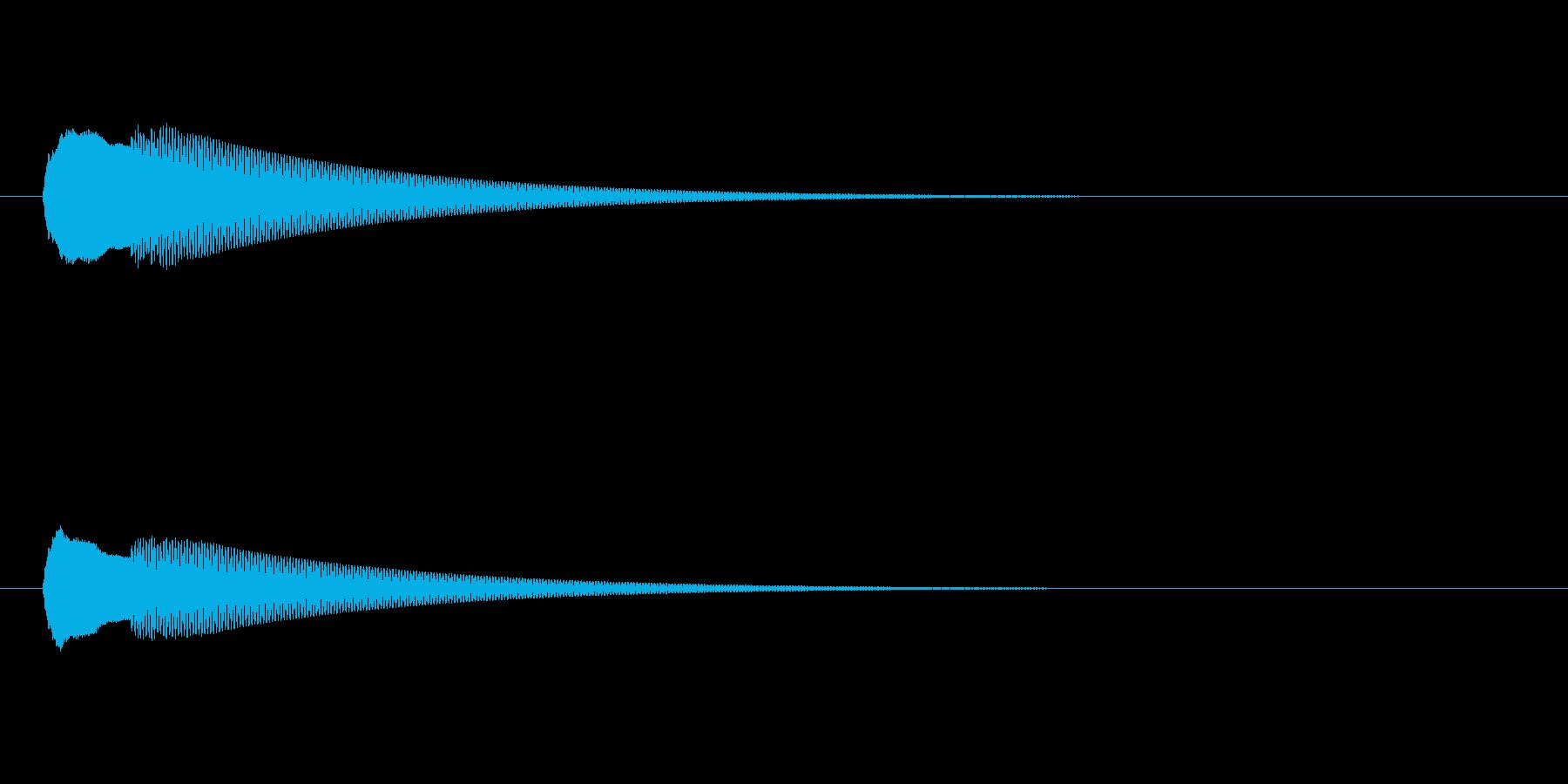 【ドアベル ピンポン02-4】の再生済みの波形