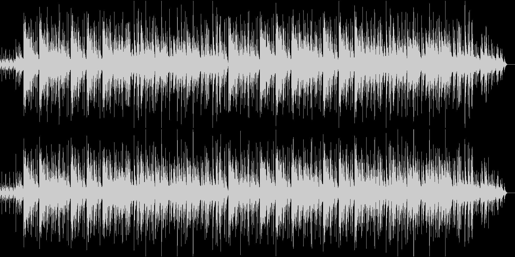 シャープで洗練されたジャズの未再生の波形