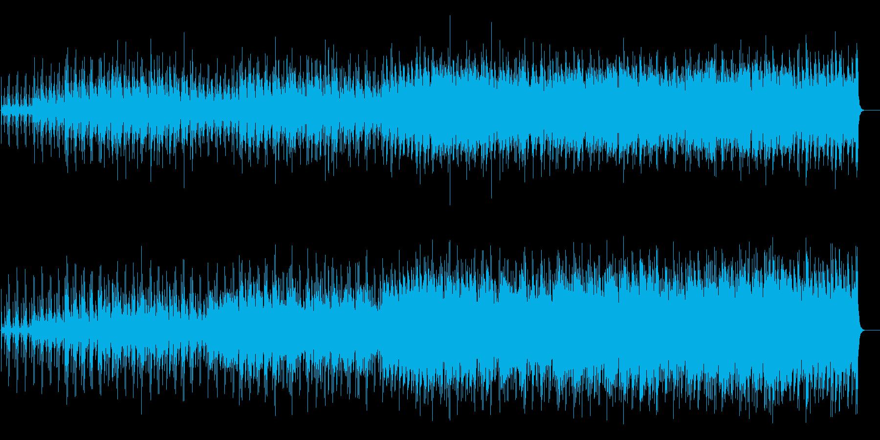 アメリカンロックをアコースティック風にの再生済みの波形