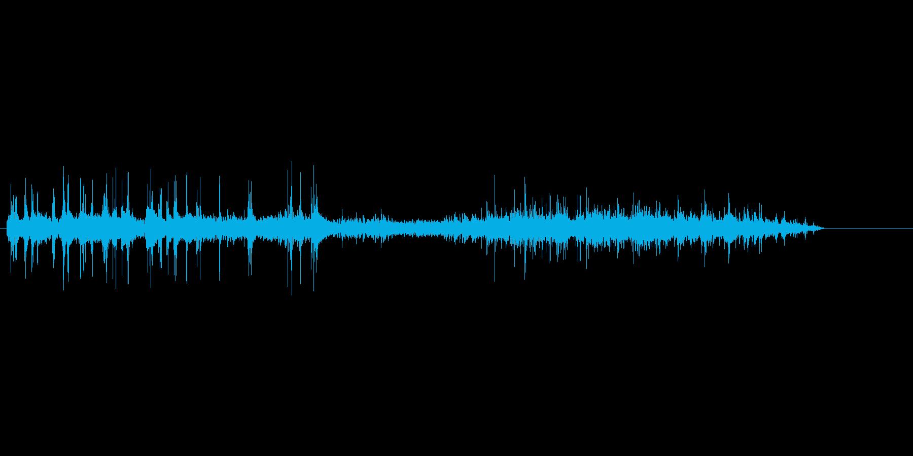 ぎゅるるの再生済みの波形