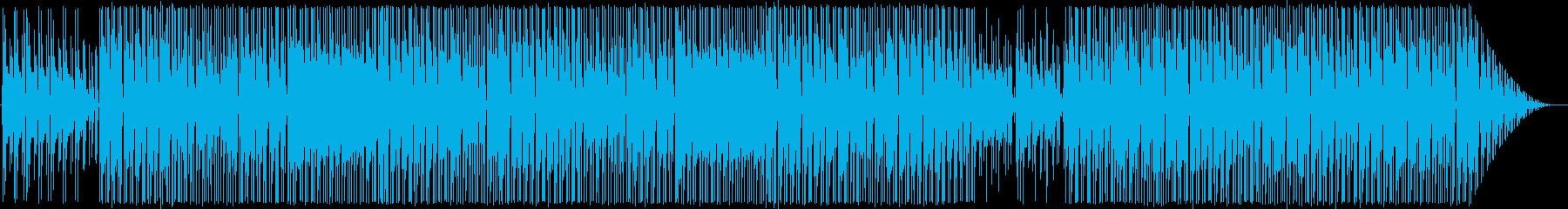 シンプルなフュージョン系インスト曲ですの再生済みの波形
