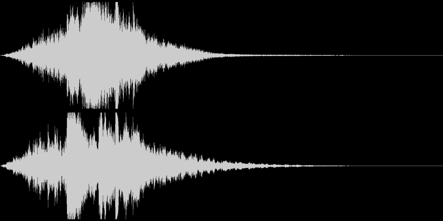 ゲーム・映像等 幻想的ピアノサウンドロゴの未再生の波形