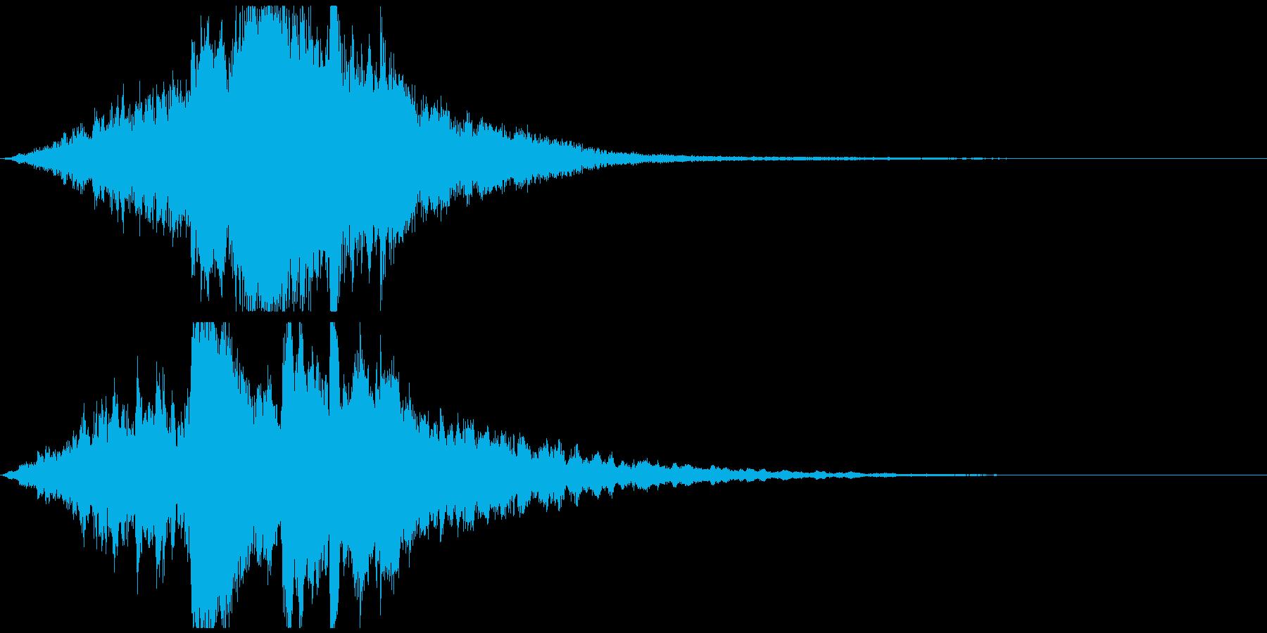 ゲーム・映像等 幻想的ピアノサウンドロゴの再生済みの波形