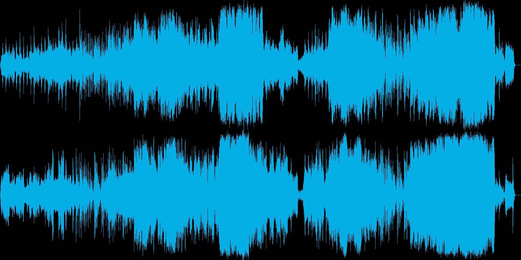 チェロのやさしく美しいメロディーの再生済みの波形