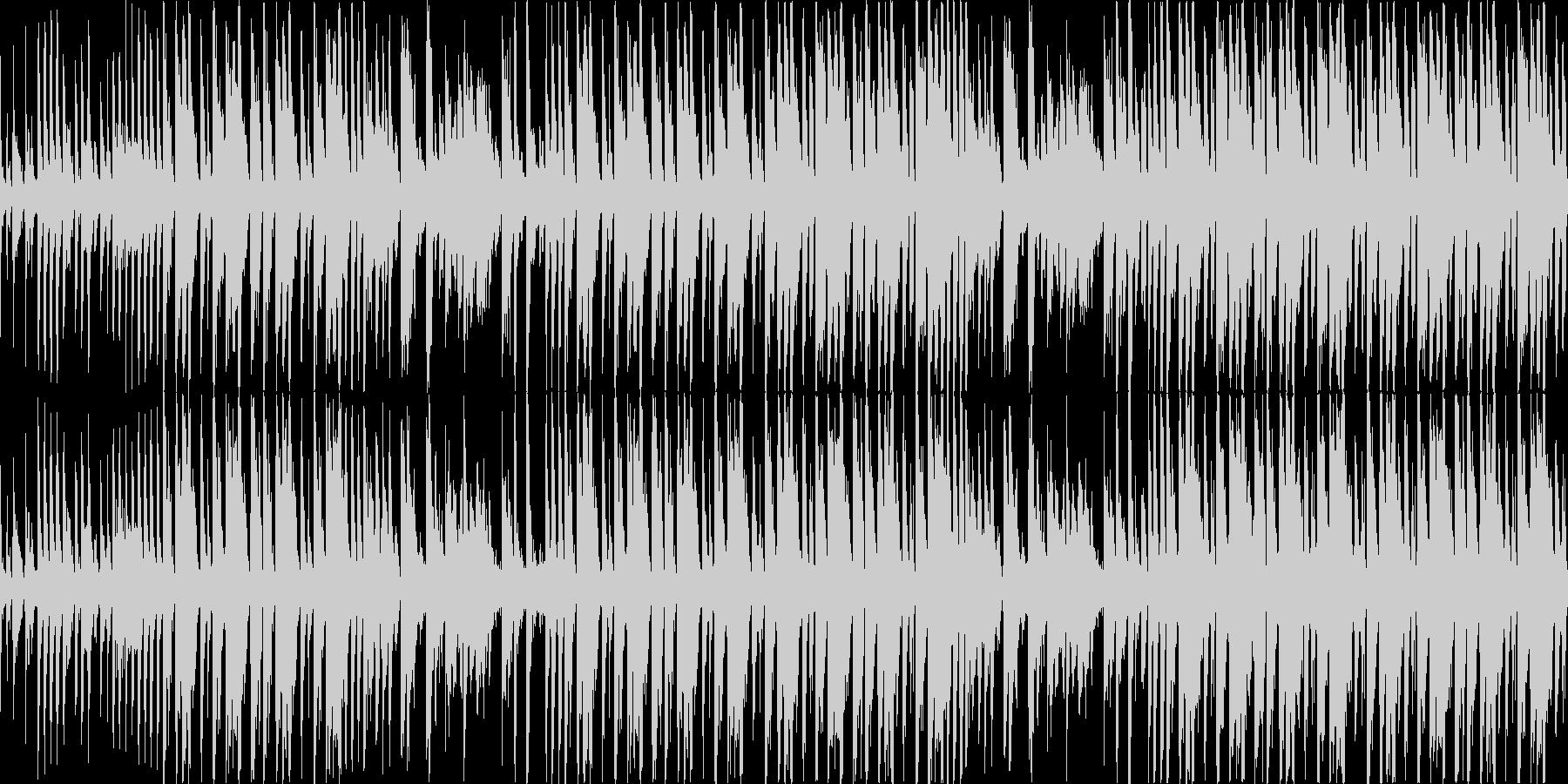 【30秒】ファンキーなブレイクビーツの未再生の波形