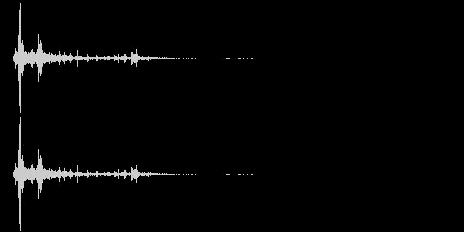 ガシャン(ゲーム、ロボ、8ビット)の未再生の波形
