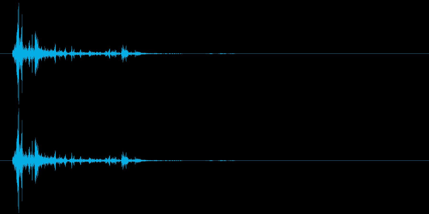 ガシャン(ゲーム、ロボ、8ビット)の再生済みの波形