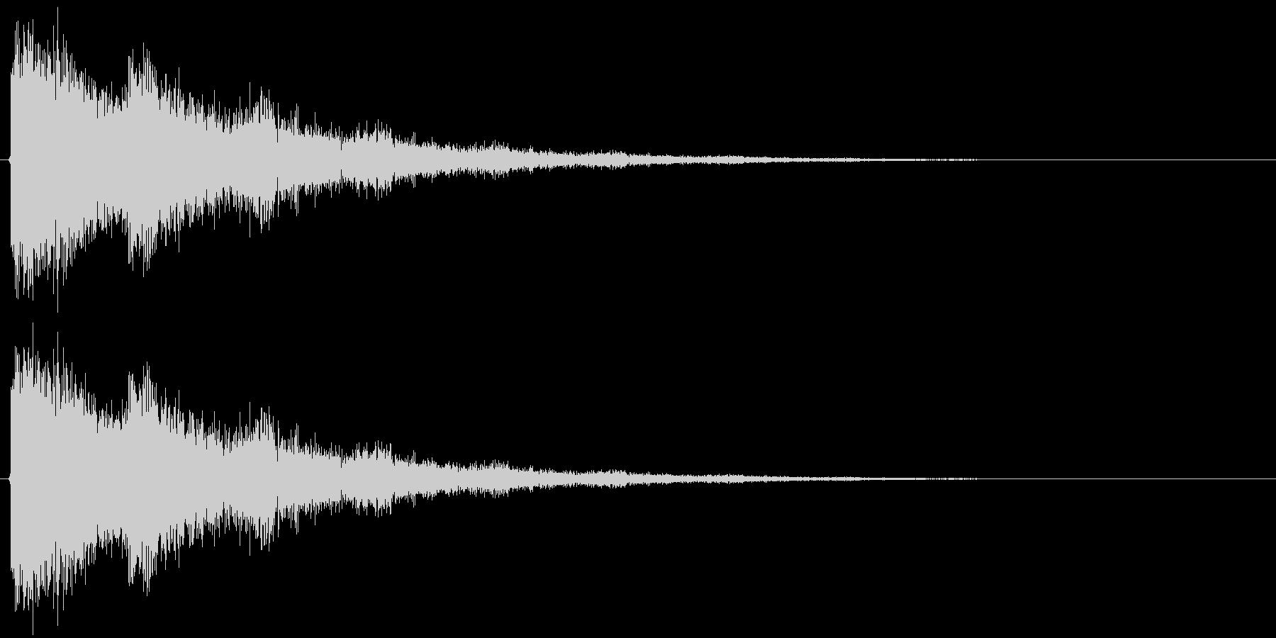 バリーンの未再生の波形