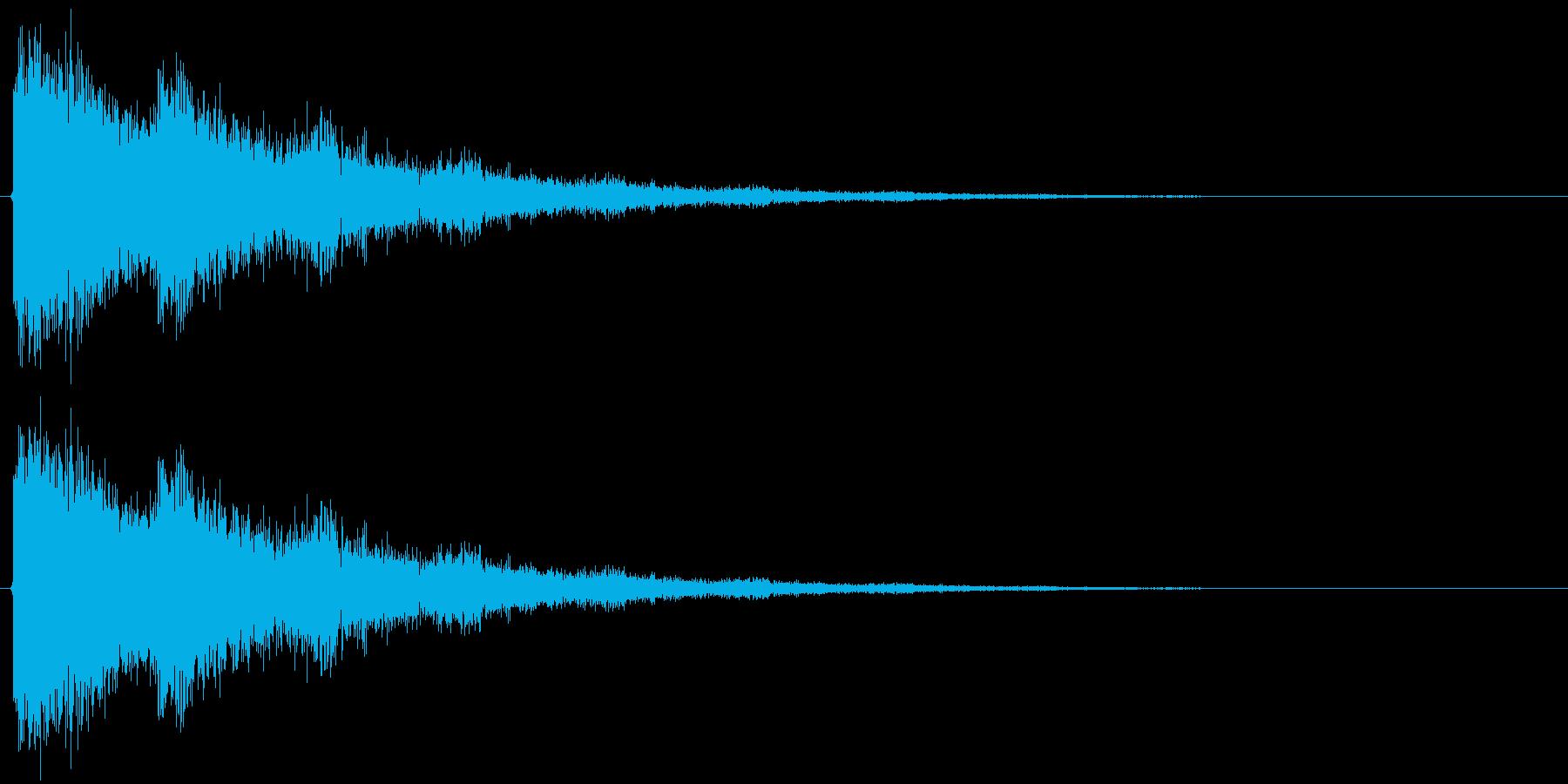 バリーンの再生済みの波形