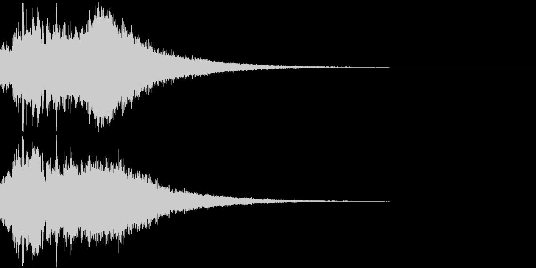 クリスマス ジングルベル キラキラ 14の未再生の波形