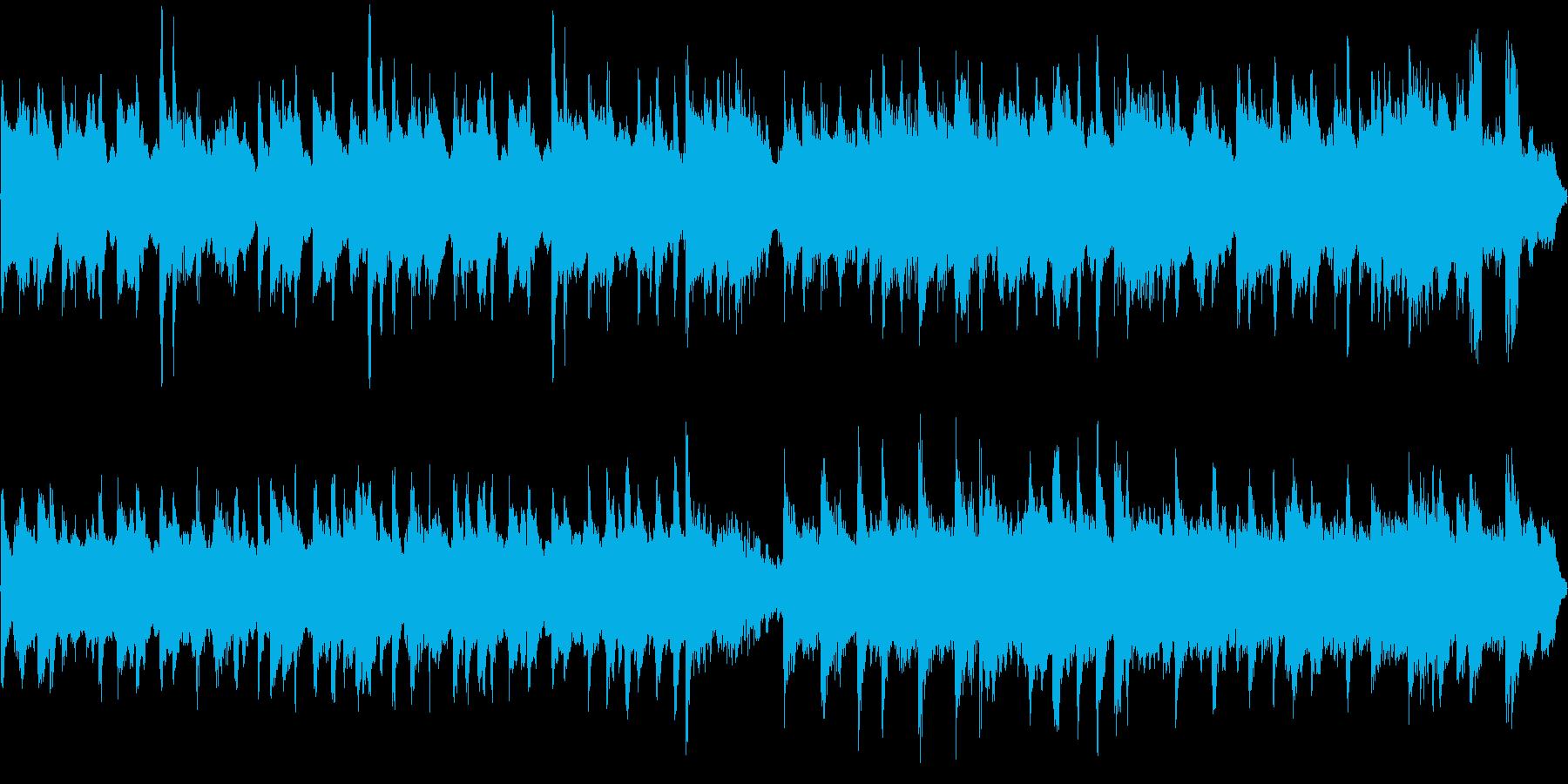 透明感、浮遊感、ループの再生済みの波形