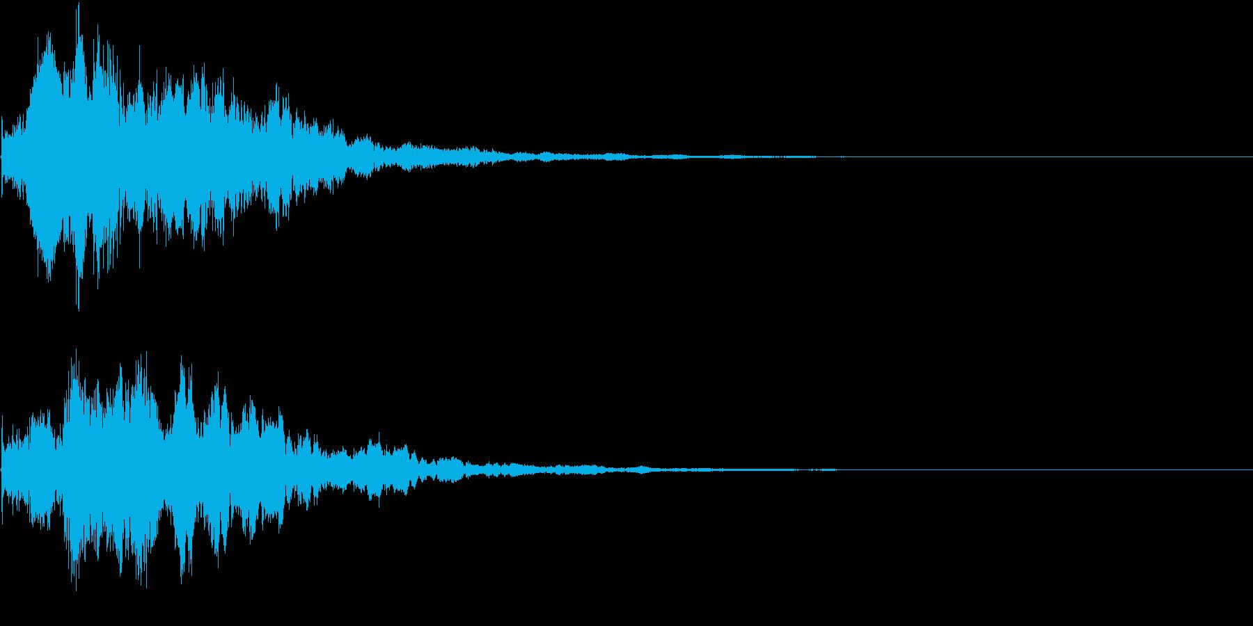 閃き 気付き 思いつき キーン ヒーンの再生済みの波形
