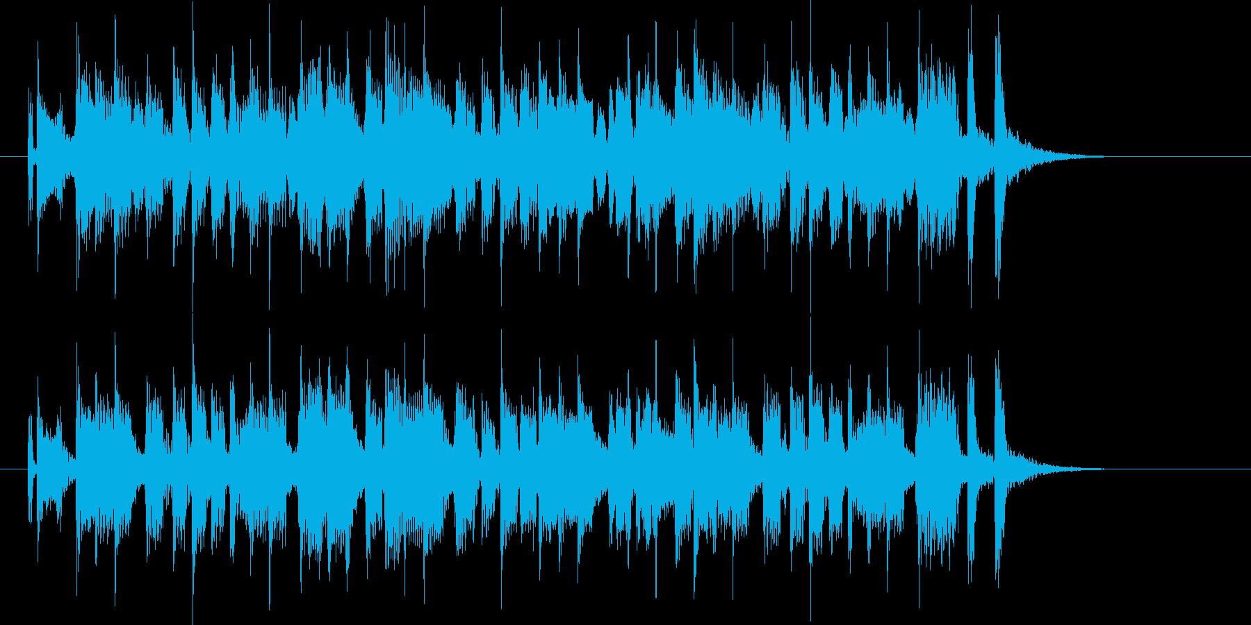 楽しく元気なメロディがわくわくするポップの再生済みの波形