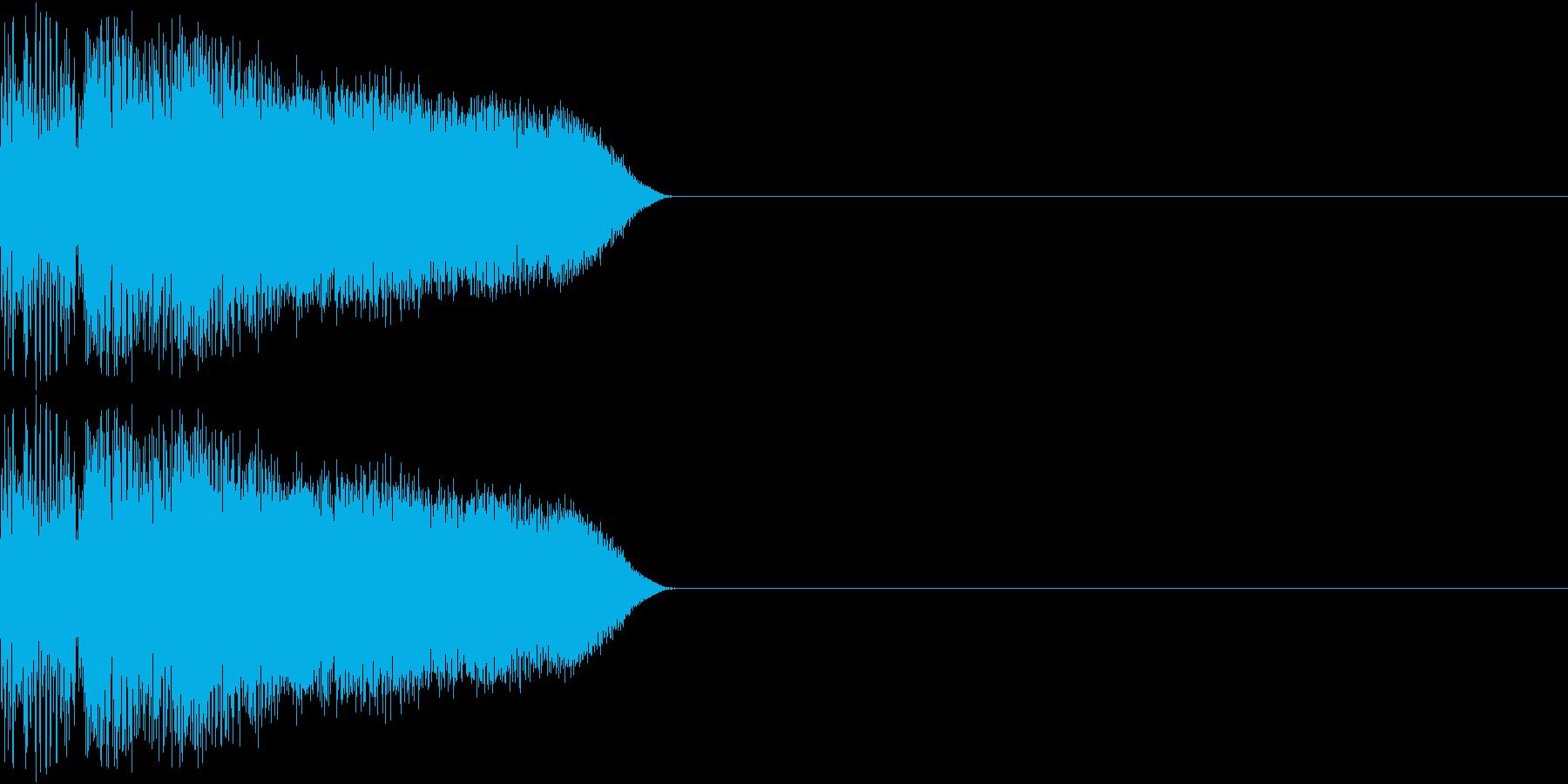 8ビット ファミコン ジャンプ ビーム3の再生済みの波形
