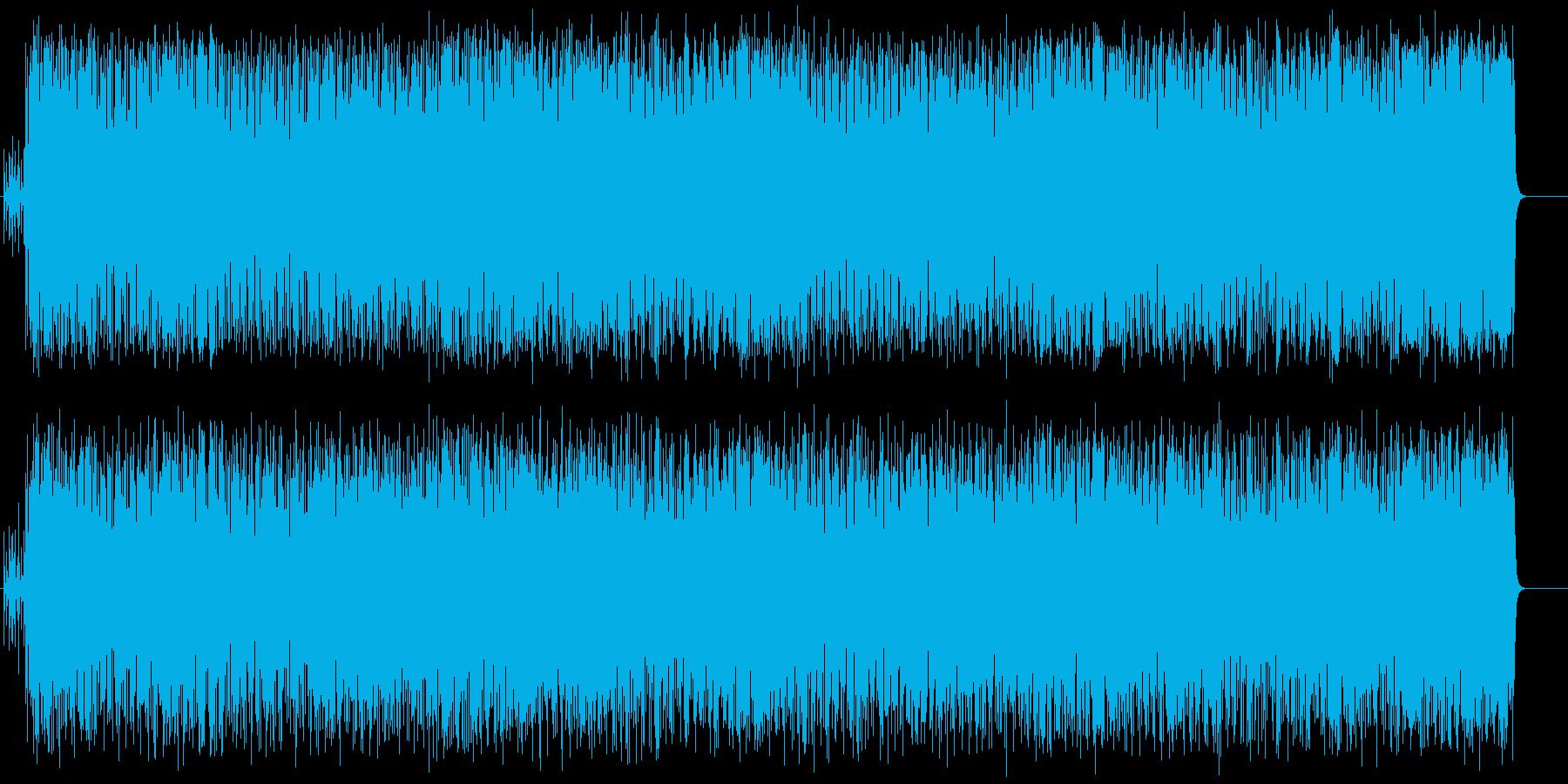 新時代を築き上げるファンク/テクノの再生済みの波形