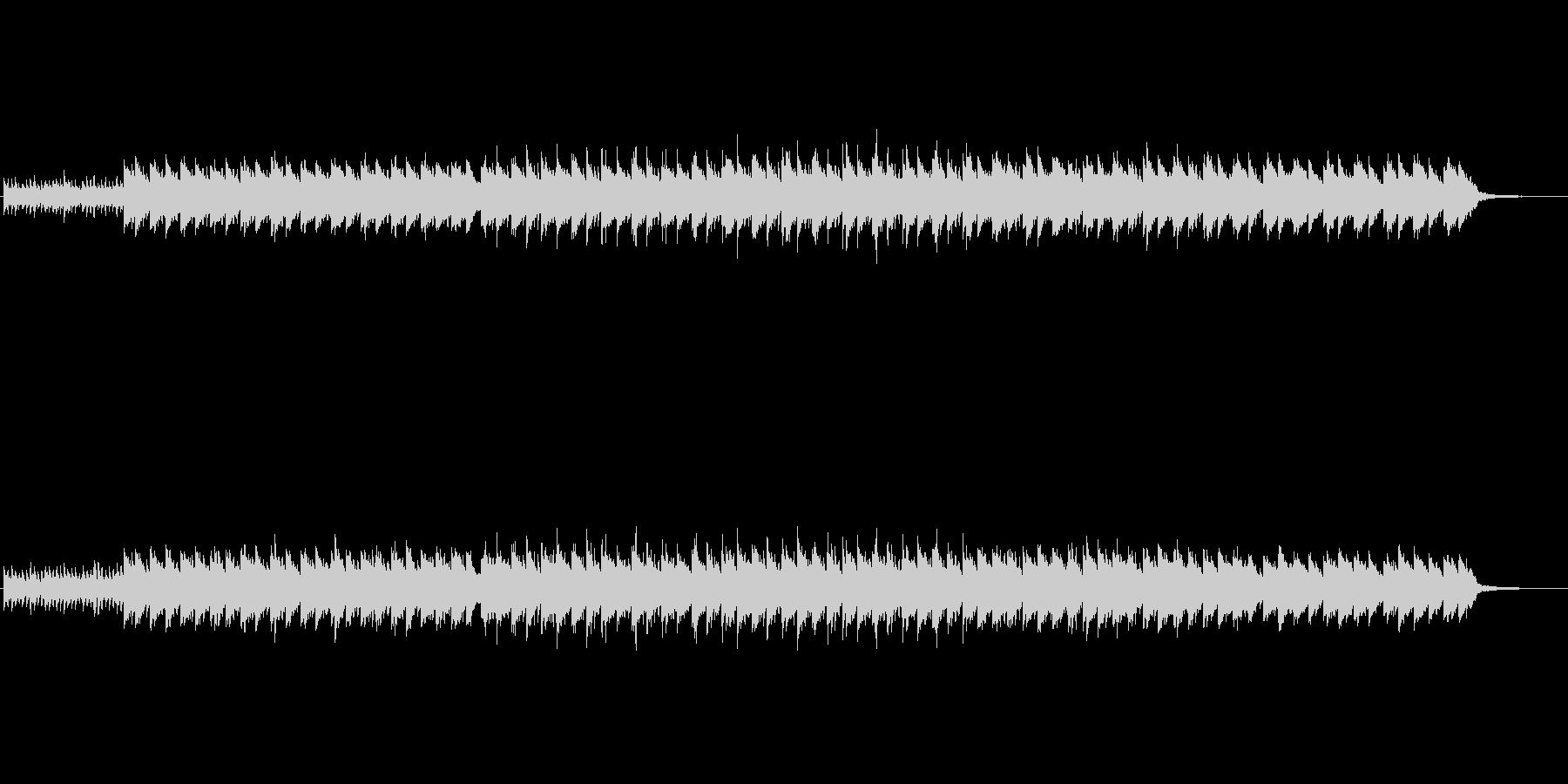 怪しげなゆっくりとしたBGMの未再生の波形