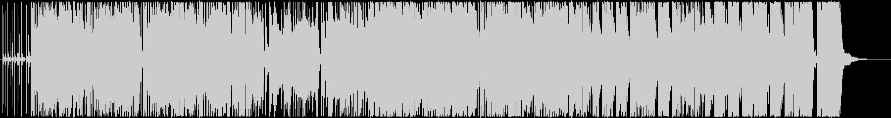 アイリッシュ、ケルト風の笛メインの曲の未再生の波形