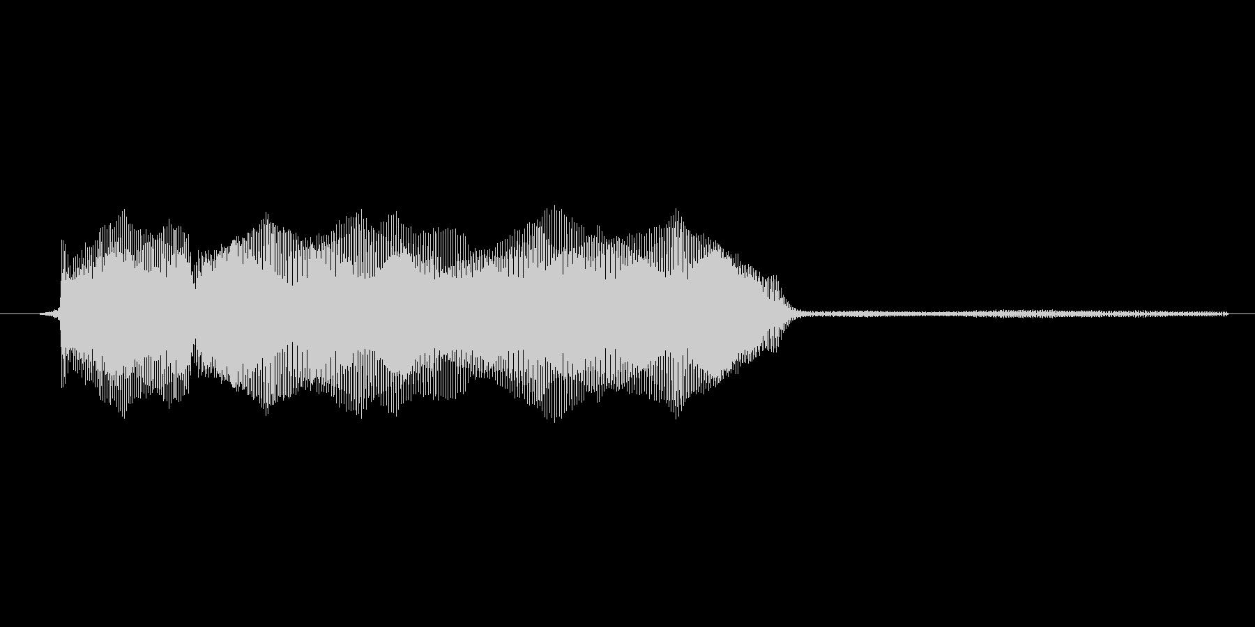 ゲーム、クイズ(ピンポン音)_011の未再生の波形