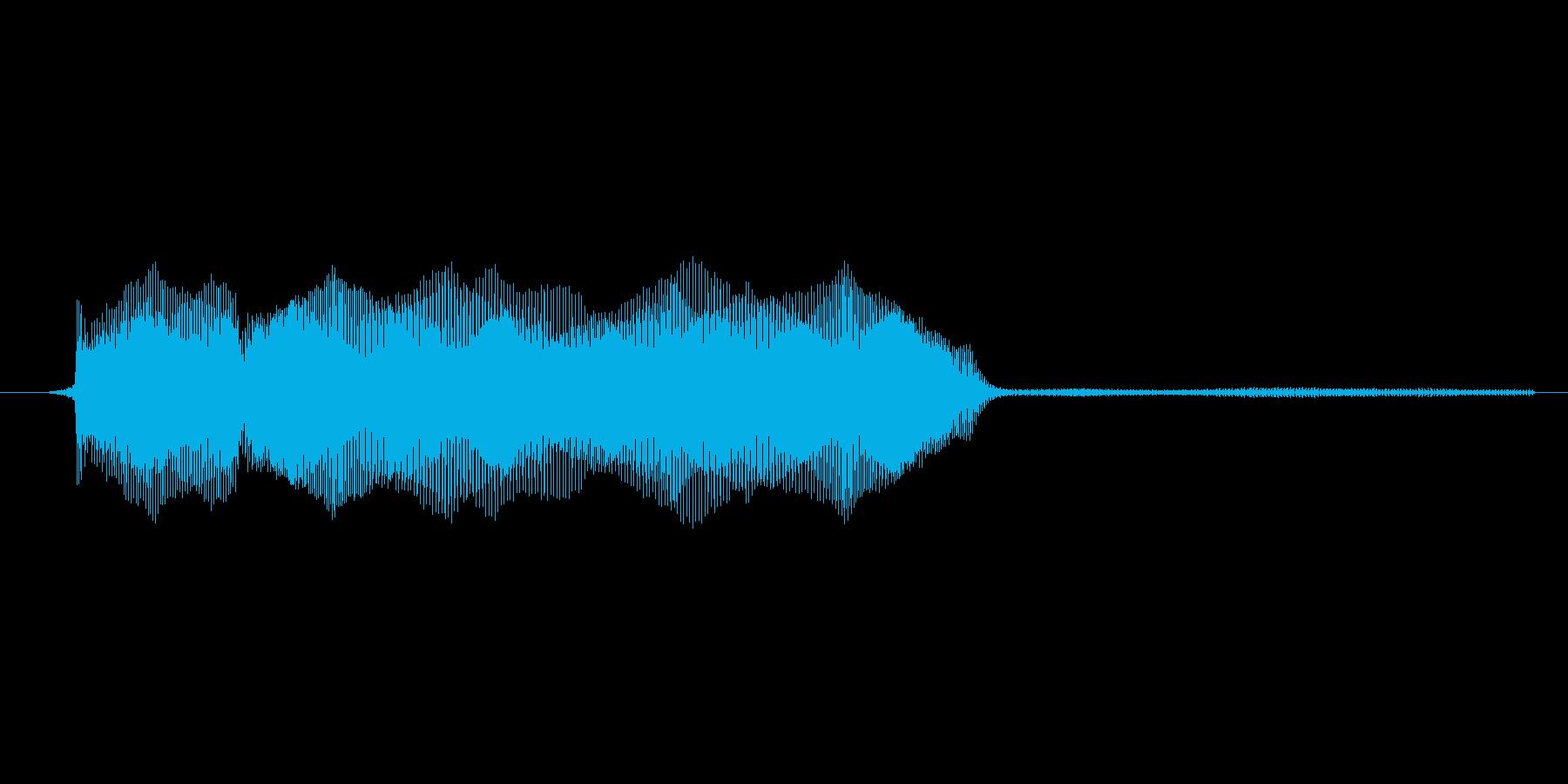 ゲーム、クイズ(ピンポン音)_011の再生済みの波形