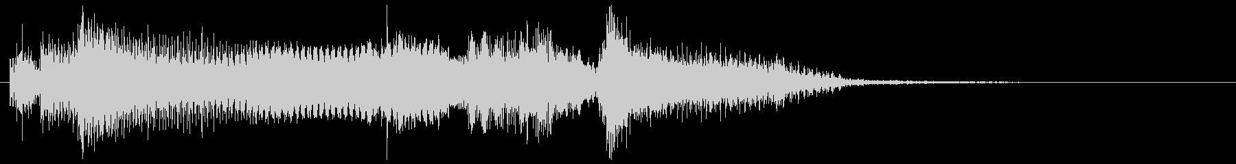 クリーントーン ギターフレーズ コードの未再生の波形