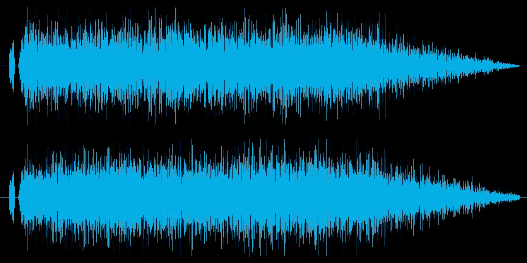 ロボット系の機械起動!爆発!に最適です!の再生済みの波形