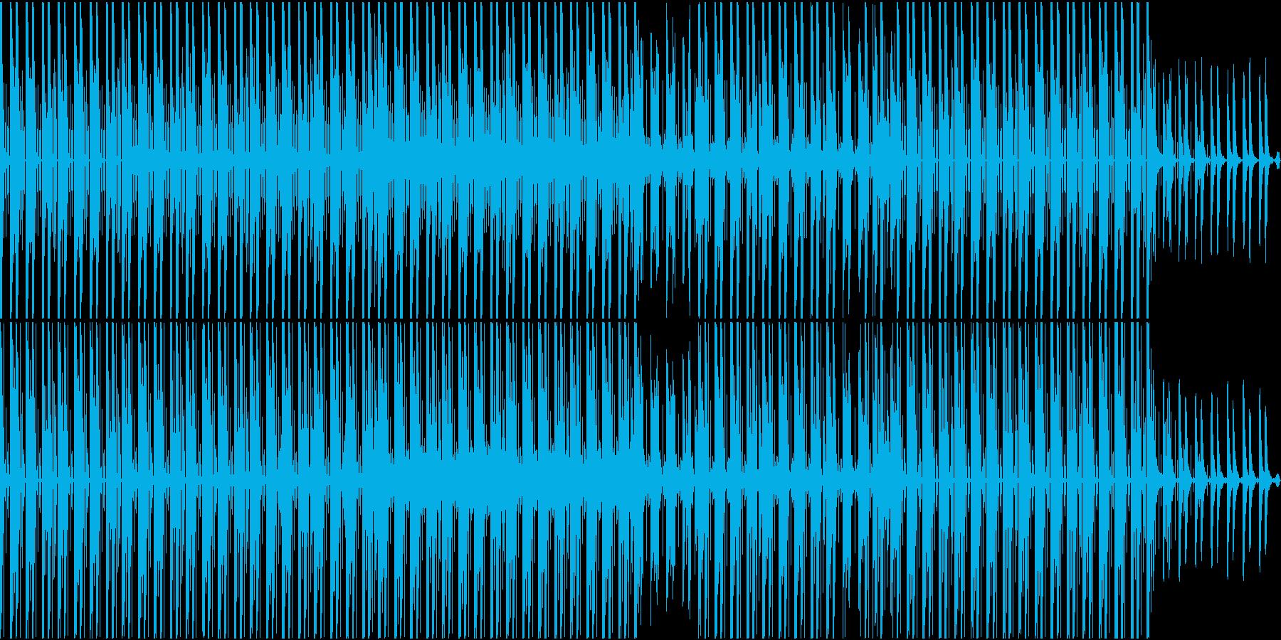 [ループ対応]クールで軽快なシンセポップの再生済みの波形